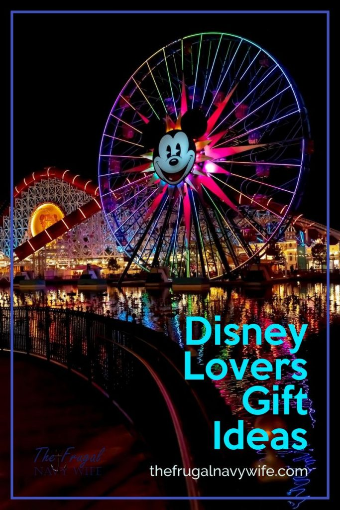 Buying for someone who is Disney Crazy? Disney fans are a tribe all their own. This is why these Disney Lovers Gift Ideas are perfect for Disney fans in your life! #frugalnavywife #giftguide #giftideas #disney #disneygifts #holidaygiftguide #disneylovers | Gifts for Disney Fans | Disney Lovers Gift Guide | Holiday Gift Guide | Gift Ideas | Gift Guide