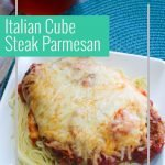 Looking for easy weeknight meal cube steak recipes? This one is simple and easy and your kids will love it! This Italian Parmesan Crusted Steak is yummy! #thefrugalnavywife #cubesteakrecipe #easyweeknightmeal #dinnerrecipe #tasty   Homemade Cube Steak Recipe   Dinner Ideas   Dinner Recipe   Easy Weeknight Meal   Easy Recipe   Family Favorite Recipes