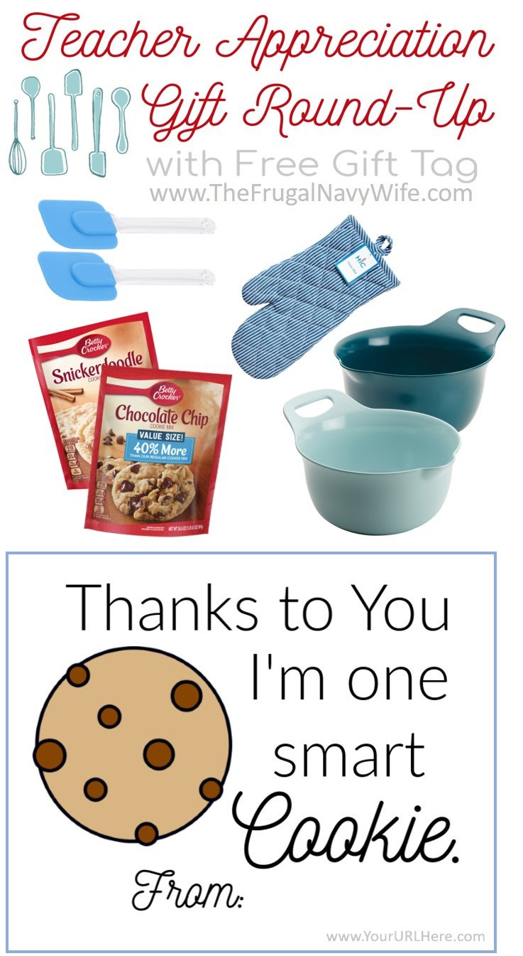 3 Themed Teacher Appreciation Gift Ideas With FREE Printables!