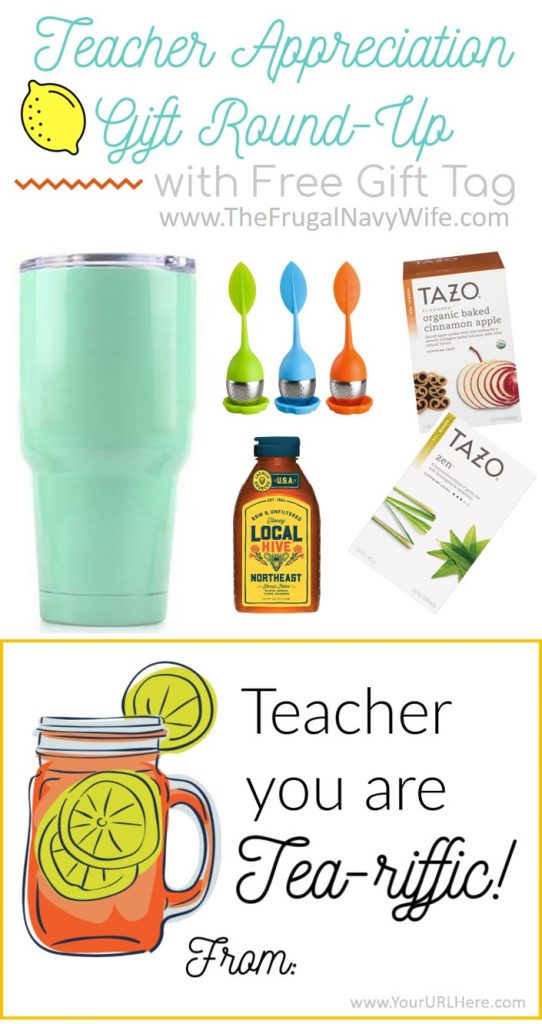Looking for gifts for your kid's teachers? Why not go with a theme to say thanks! My Teacher Appreciation Gift Idea comes with a matching printable gift tag. #frugalnavywife #teacherappreciation #giftsfortreachers #teachergifts #giftguide #giftideas | Teacher Appreciation Week | Teacher Appreciation Gifts | Gifts for Teachers | Gift Ideas for Teachers | Educators Gift Guide