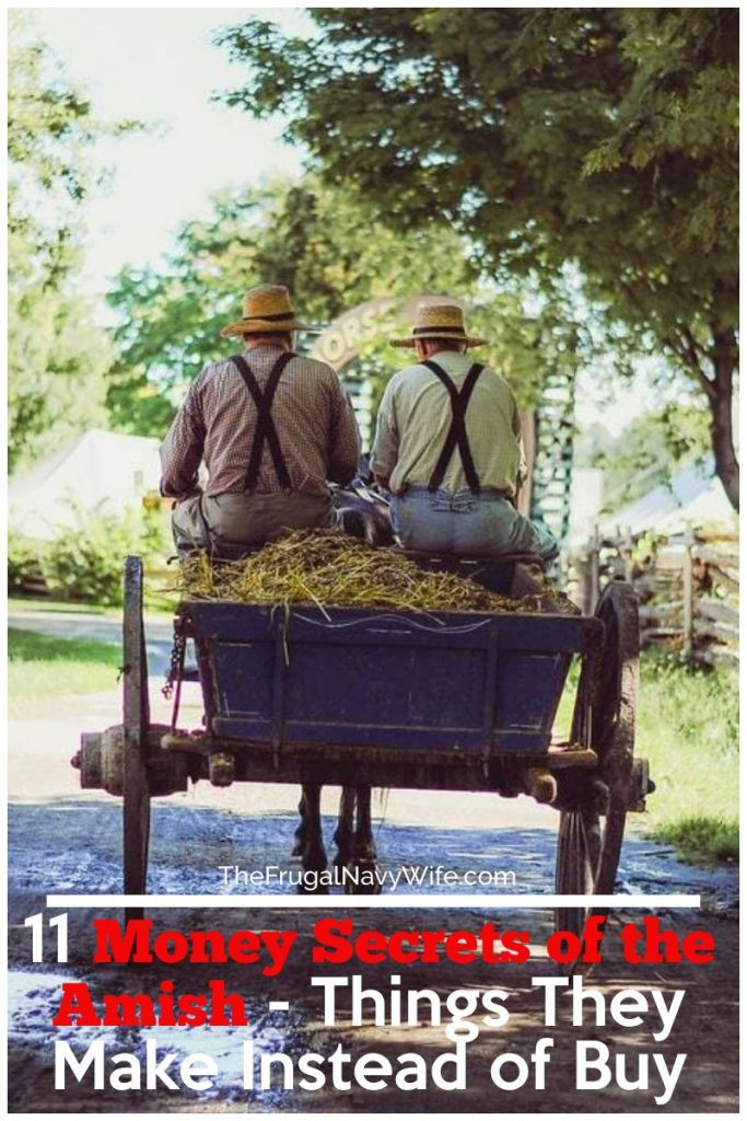 I've compiled a list of the different things Amish make to save money this is one of the best Money Secrets of the Amish!#amish #frugalnavywife #savingmoney #moneyhacks #thingstomake #diy | Saving Money | Things to Make vs Buy | Saving Money Hacks | Saving Money Tips | Amish Money Hacks | How to Save Money like the Amish | Finanaces