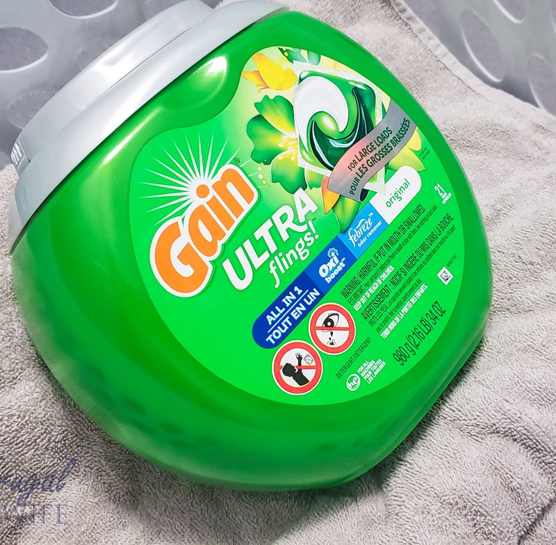How to Keep Your Clothes Extra Clean & Make Them Last Longer with Gain Ultra Flings