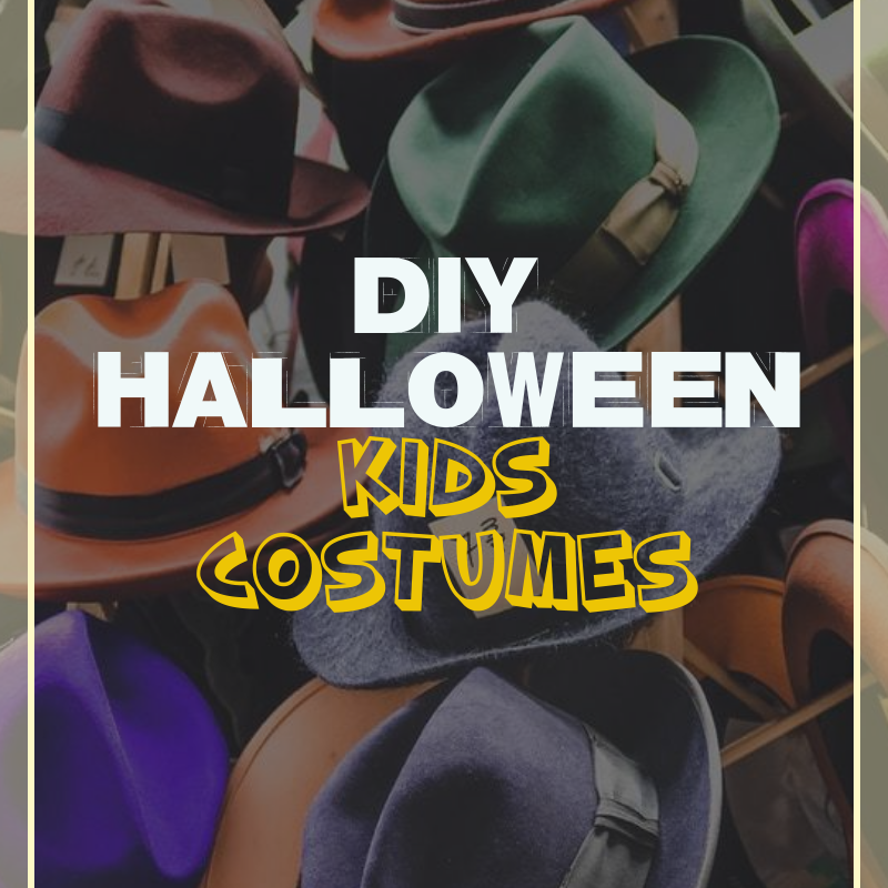 25 DIY Halloween Kids Costumes