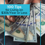 Following these frugal living tips, you can save money and do it comfortably all while living on $30k a year. #frugalnavywife #frugallivingtips #frugalliving #livingonless #howtosavemoney #howtosave #money #budgeting   Ideas to save money   Living on Less   Frugal Living Tips   How to Save Money   Budgeting Ideas