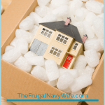 Lowering moving expenses can also reduce financial stress, here are our top 5 Ways to reduce Moving Expenses. #frugalnavywife #moving #movingexpenses #savingmoneyonmoving | How to Save On Moving Expenses | Moving Cross Country | Frugal Living | Reducing Moving Costs |