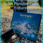 If you want to transform your outdoor living space, get Brightology today! Upgrade any outdoor space with Solar LED Lights. #brightology #frugalnavyife #solarledlights #lightfixtures #outdoorliving | Outdoor Living DIY | Outdoor Living Lighting Options | Solar LED Lights | Home and Garden Upgrades | Home Space | Patio Decor |
