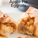 Air Fryer Apple Pie Egg Rolls is the super simple healthier version of our popular recipe cutting cut out the oil they were deep-fried in! #frugalnavywife #airfryerrecipe #airfryer #applepie #applepieeggrolls #desserts | Apple Pie Recipes | Eggroll Recipes | Air Fryer Recipes | Dessert Recipes | Easy Recipes | Yummy Recipes | Apple Recipes | Kid Friendly Recipes |