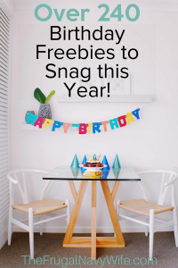 You can be treated like a King or Queen on your big day by hundreds of places but you have to have all the details first. Use this Birthday Freebies list! #frugalnavywife #birthdayfreebies #freebies #birthdayrewards #celebrating | Free things on your Birthday | Birthday Freebies | Celebrate your Birthday