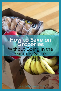 Save on Groceries - Want to know my secret? Here are tips on how to save on groceries without going to the grocery store. #frugalnavywife #saveongroceries #frugallivingtips #savingmoney #livingonless | How to save on groceries | Saving Money on Groceries | Budgeting | Living on Less Hacks | Frugal Living Tips