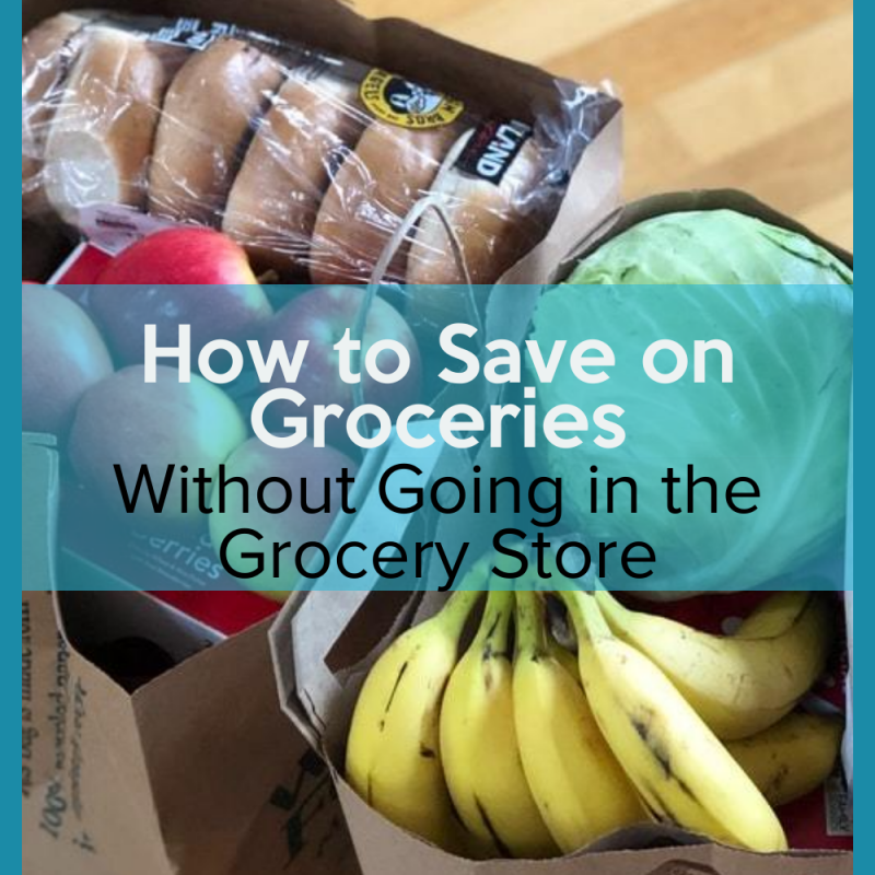 How to Save on Groceries Without Going in the Store