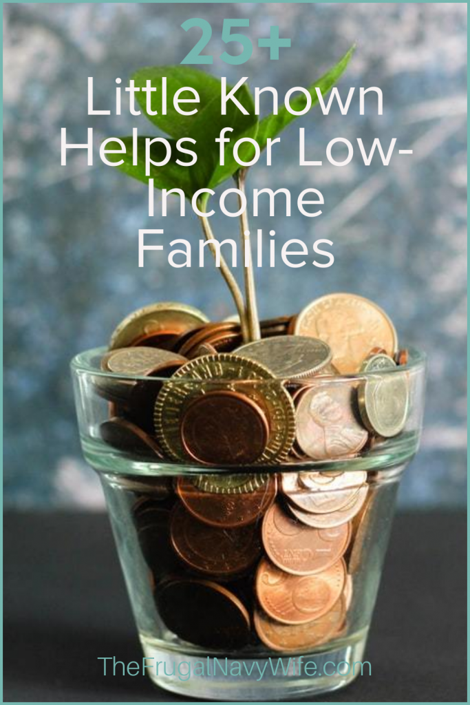 When you are struggling, you might want a little extra help. Check out this little-known help for low-income families. #lowincome #livingonless #savingmoney #frugalnavywife | Help for low income | Get help when struggling | Help for the Poor | Frugal Living Tips | Saving Money Hacks