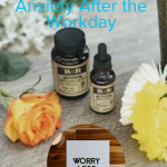Use these three tips to help you unwind and say goodbye to anxiety once you're off the clock. Take back your joy. #frugalnavywife #anxiety #tipstounwind #personalhealth | Personal Health | Anxiety Relief |