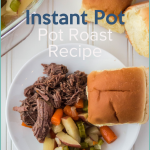 You won't believe how delicious this Instant Pot Roast Beef Recipe is! You can make it for your family tonight and they would be so happy and full. #instantpot #roastbeef #frugalnavywife #dinnerrecipes | Instant Pot Roast Beef | How to Make Roast Beef in the Instant Pot | Roast Beef in the Instant Pot | Instant Pot Recipes | Beef Recipes | Dinner Recipes | Easy Dinner Ideas | Instant Pot Dinners | Roast Beef Recipes