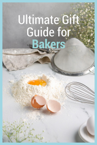 We have gathered some of the hottest items this year for this Ultimate Bakers Gift Guide. Shopping just got a lot easier for you. #frugalnavywife #baking #giftguide #bakersgifts #bakinggiftideas | Gift Ideas for Bakers | Baking Gift Guide | Holiday Gift Guide | Gift Ideas | Baking Lovers | Gifts for Bakers