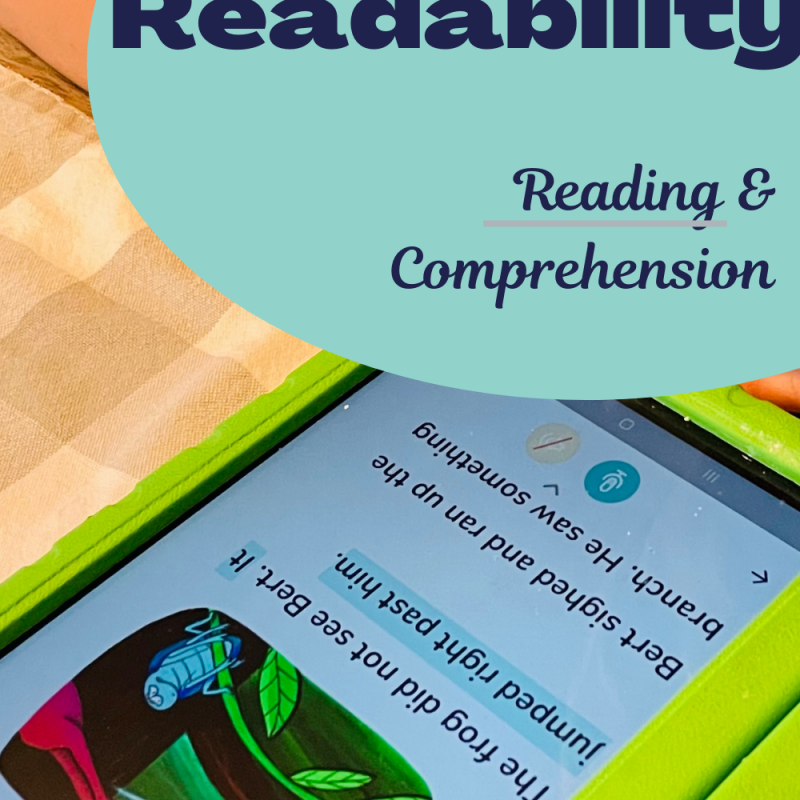 Readability: The Perfect Reading and Comprehension Learning App